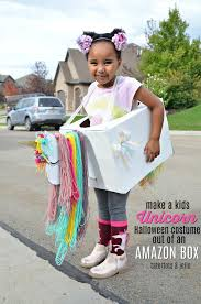 kids unicorn halloween costume out of amazon smile boxes with