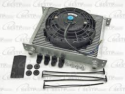 oil cooler with fan oil cooler fan ebay