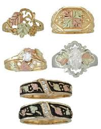 dakota wedding band black gold wedding rings the wedding specialiststhe