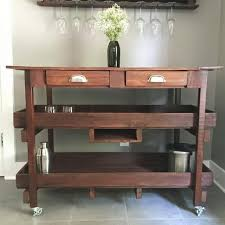 best gorgeous handmade kitchen island bar cart for sale in
