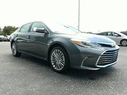 new 2018 toyota avalon limited 4d sedan in sarasota ju268194