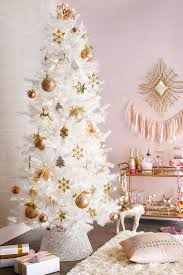 7 best images about christmas tree ideas decorating white pink on
