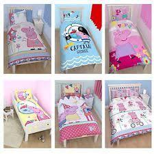 Peppa Pig Single Duvet Set Peppa Pig Bed Ebay