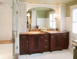 Recessed Bathroom Vanity by Outstanding Bathroom Vanity Top Storage Cabinet Also Recessed
