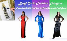 fashion designer luigi carlo custom made fashion designs