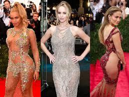 the most daring u0027naked u0027 dresses celebrities have worn insider