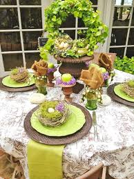 16 easter table setting up ideas cheap easy decoration for