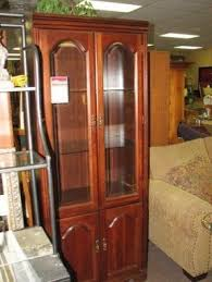 Bookcases With Lights Wooden Bookcases With Glass Doors Foter
