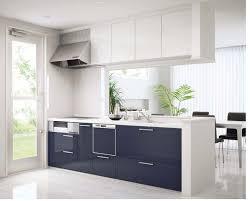 kitchen cabinet contractors appliances deep blue kitchen islnad with quartz countertops