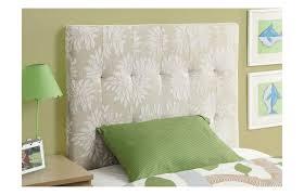 bedroom nice cleveland upholstered twin headboard design in cream