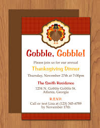 thanksgiving turkey dinner invitation dinner invitations
