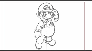 Drawing Games How To Draw Mario Bros Step By Step From Nintendo Video Games