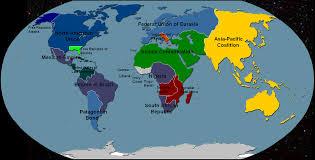 Map Of Eurasia Alternate History World Map 1 By Spaceship2012 On Deviantart