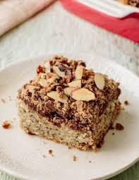 chocolate banana crumb cake recipe banana crumb cake crumb