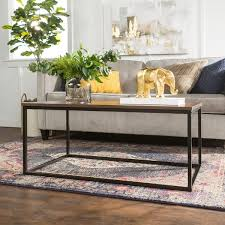 42 inch coffee table 42 inch mixed material coffee table free shipping today