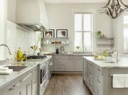 two tone white u0026 gray kitchen floating shelves u0026 gray stone