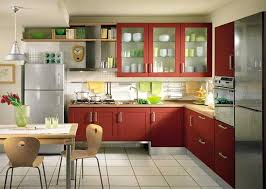 modular kitchen design for small spaces with simple decoration and