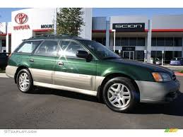 2001 subaru outback wagon green on 2001 images tractor service