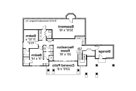 house plans with daylight basements prairie style house plans northshire 30 808 associated designs