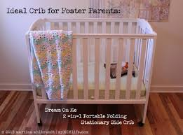3 In 1 Mini Crib Ideal For Foster Parents Portable Folding Crib Mymcmlife