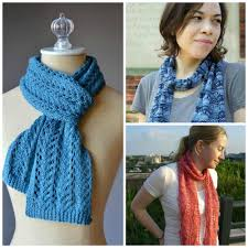 9 fantastic free knitted lace scarf patterns