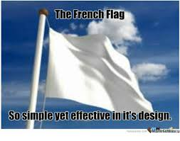 Meme Definition French - the french flag sosimple vet effective in its design memecentercom