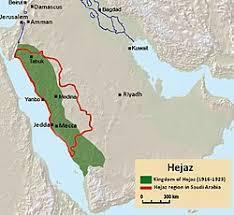 middle east map medina hejaz