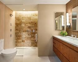Bathroom With Beige Tiles What Color Walls Water Tiles Houzz