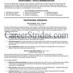 Resume For Front Desk Receptionist Front Desk Receptionist Resume Receptionist Resume