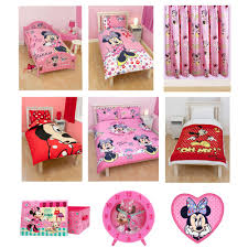 Mini Mouse Curtains by Minnie Mouse Bedroom U0026 Bedding Accessories Ebay