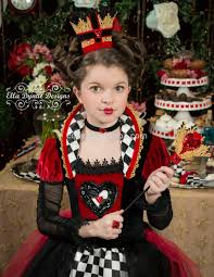 2014 newest children halloween dress the queen of hearts girls