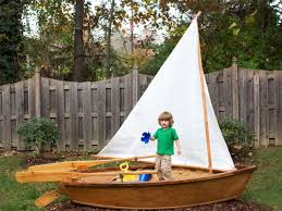catchy collections of wooden boat sandbox wooden playground boats