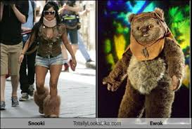 Ewok Memes - snooki totally looks like ewok randomoverload