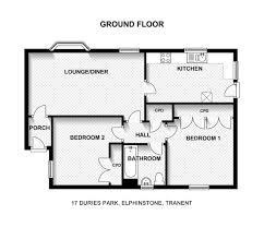bedroom 2 bedroom bungalow plans