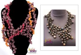 Costume Jewelry Unique Beaded Design Dare To Wear Krisdesign Beaded Jewelry Stylefrizz