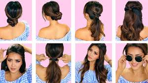 hairstyles quick and easy to do m top 5 lazy everyday hairstyles with puff quick easy