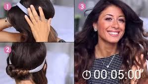 Frisuren Selber Machen Lockenstab by Machen Sie Sich Fantastische Locken Mit Einem Einfachen Haarband