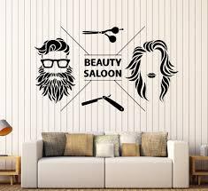 vinyl wall decal beauty saloon hair salon barbershop stickers vinyl wall decal beauty saloon hair salon barbershop stickers mural ig4597