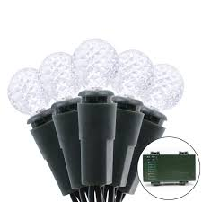 Battery Outdoor Christmas Lights by Vmanoo G12 Battery Operated String Lights 50 Led Fairy Christmas
