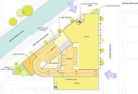 broad ripple village parking garage design changes urban indy the