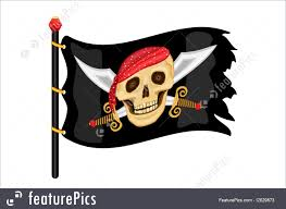 Picture Of A Pirate Flag Illustration Of Jolly Roger Pirate Flag