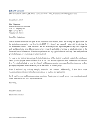 Sample 1l Cover Letter Legal Cover Letter Sample 3l