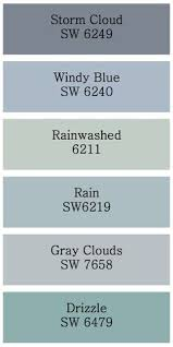 Blue Gray Bathroom Colors Storm Cloud And Gray Clouds Hmmm Those Would Look Good Too