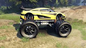 koenigsegg one 1 one 1 monster for spin tires