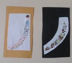 alphabet craft mosaic u0026 collage project