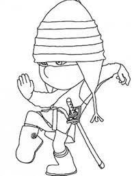 edith playing ninja despicable 2 coloring download