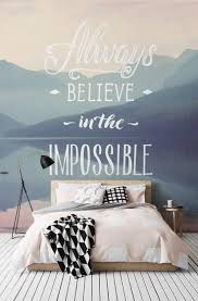 108 best special collections images on pinterest wallpaper the impossible inspirational quote wall mural