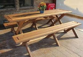 outstanding 7 ft folding table diy picnic table 5 you can make in