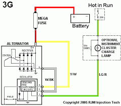 msd alternator connect help the h a m b