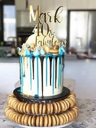 40 cake topper xoxo design birthday cake toppers
